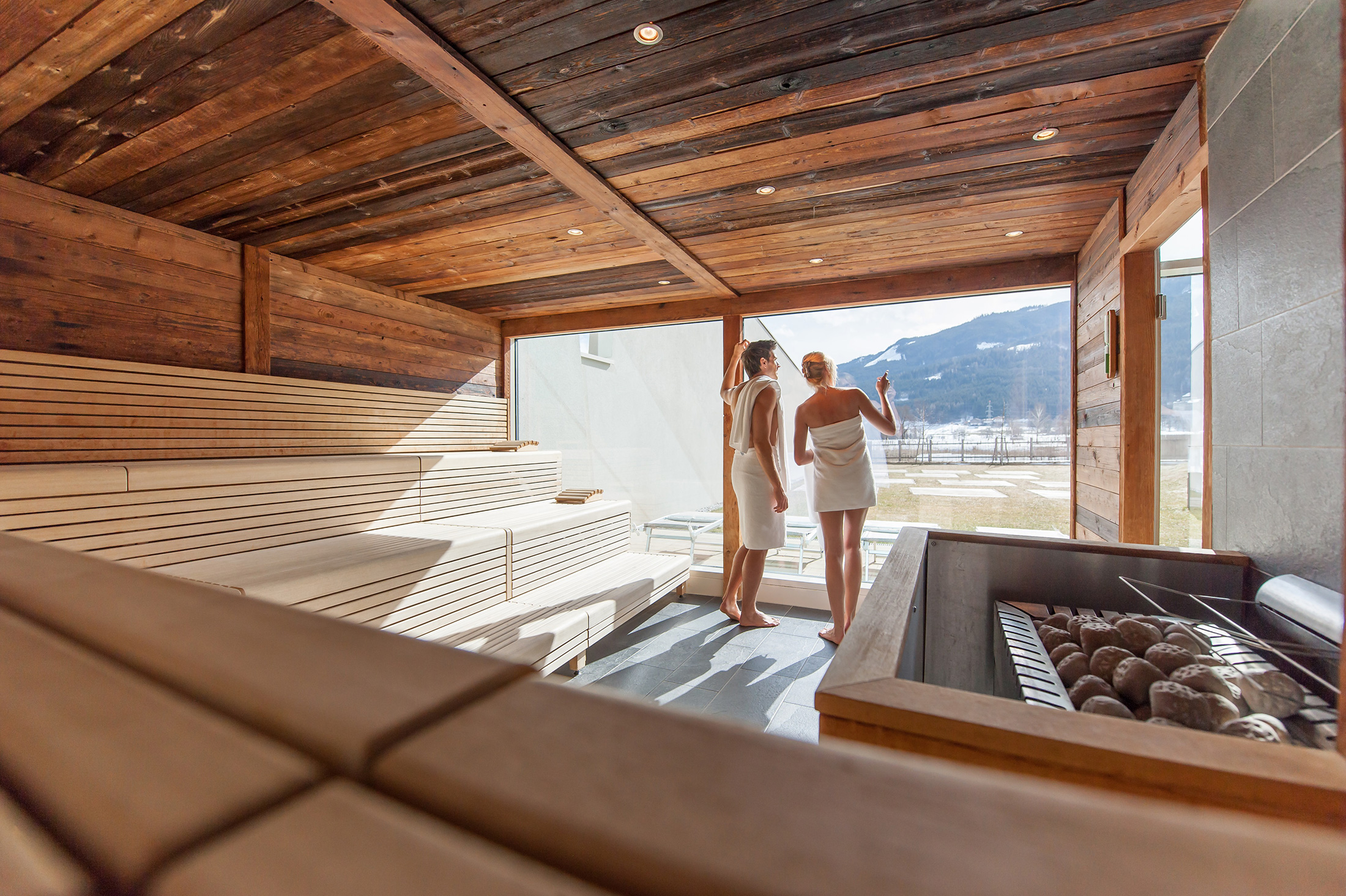 Amüsant Sauna Bilder Foto Von In The World Tauern Spa