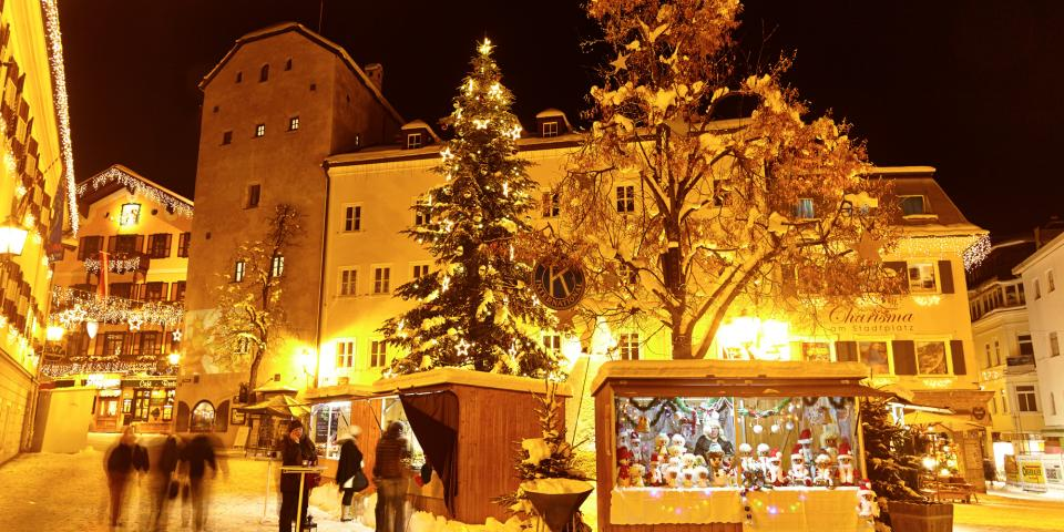 christmas market zell am see