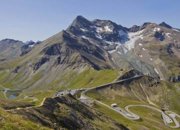 panoramic view grossglockner mountain | © grossglockner.at
