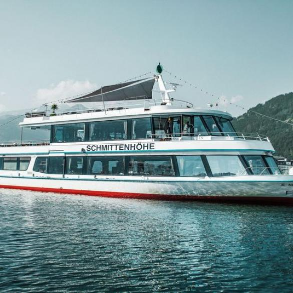 round trip lake zell by boat