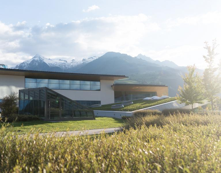 tauern spa exterior view