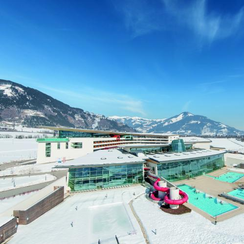 Aerial view winter | © TAUERN SPA Zell am See - Kaprun