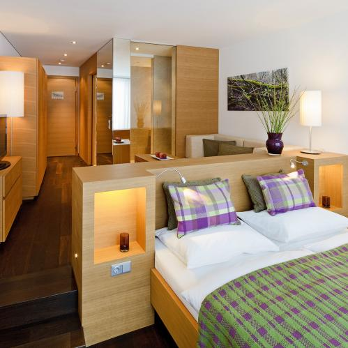 Double room panorama at the 4*S resort | © TAUERN SPA Zell am See - Kaprun