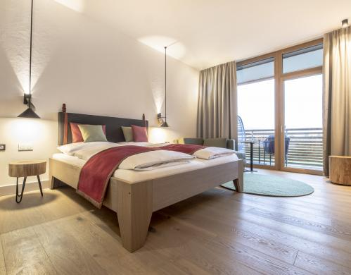 Double room nature in the TAUERN SPA | © TAUERN SPA Zell am See - Kaprun