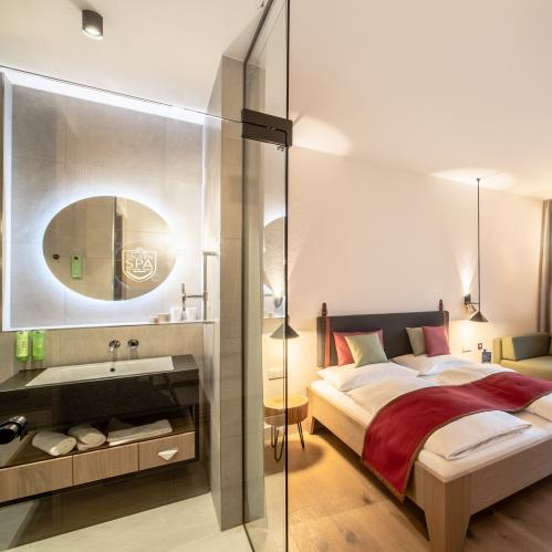 Double room nature plus in the TAUERN SPA | © TAUERN SPA Zell am See - Kaprun