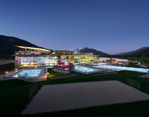 tauern spa night shoot