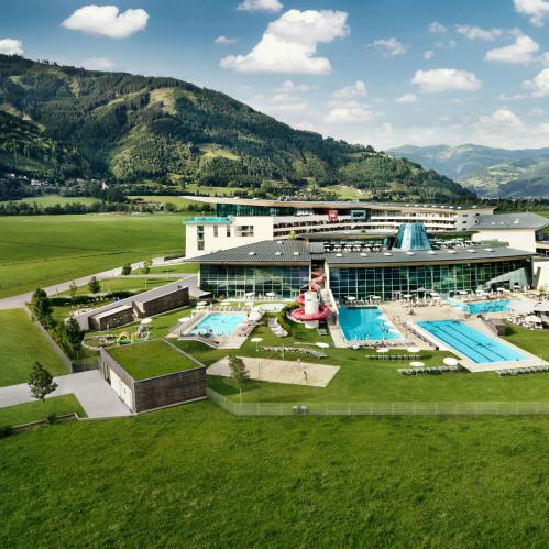 Aerial view summer | © TAUERN SPA Zell am See - Kaprun