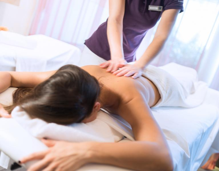 monatsspecial massage tauern spa