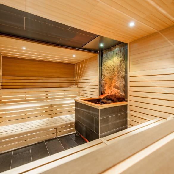 sauna area tauern spa thermal bath