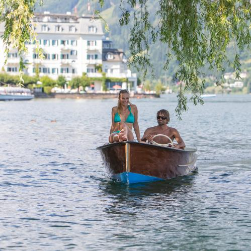 boating summer holiday kaprun | © Zell am See-Kaprun Tourismus GmbH/Faistauer Photography