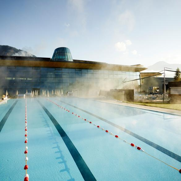 tauern spa pool swim area